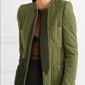 Haider Ackermann QUILTED CONTRAST JACKET(FR36/US4)